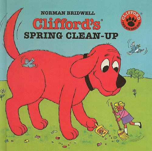 9780780778948: Clifford's Spring Clean-Up (Clifford the Big Red Dog)