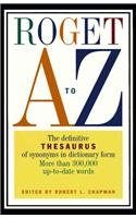 9780780781337: Roget A to Z