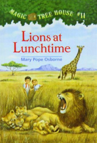 9780780783171: Lions at Lunchtime (Magic Tree House)