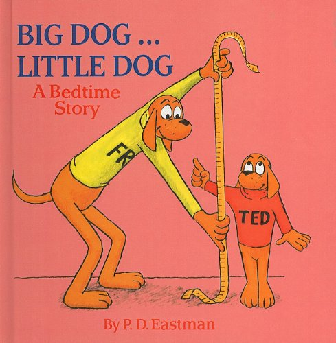 9780780787940: Big Dog... Little Dog: A Bedtime Story (Random House Picturebacks (Pb))