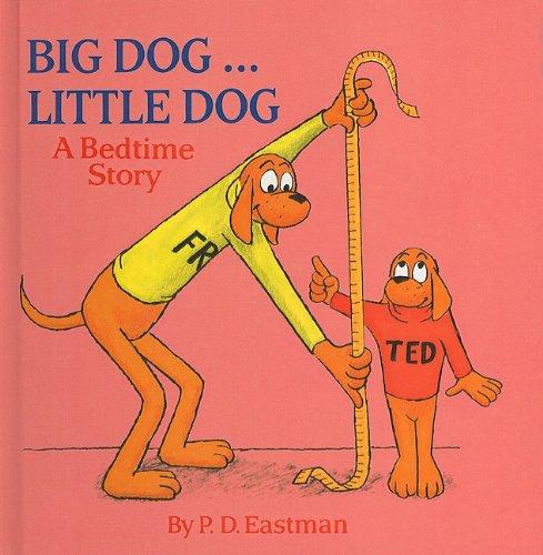 9780780787940: Big Dog... Little Dog: A Bedtime Story (Random House Picturebacks)