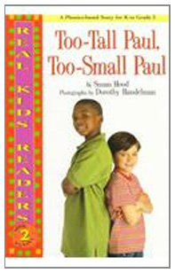 9780780795075: Too-Tall Paul, Too-Small Paul (Real Kid Readers: Level 2)