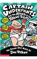 9780780796379: Captain Underpants and the Attack of the Talking Toilets: Another Epic Novel