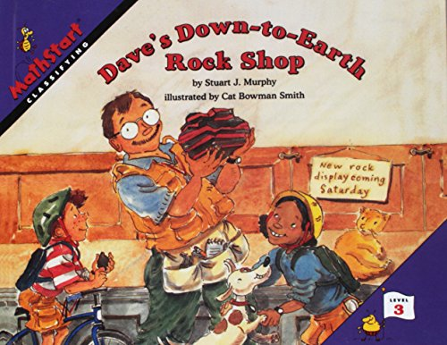 9780780798328: Dave's Down-To-Earth Rock Shop (Mathstart: Level 3 (HarperCollins Paperback))