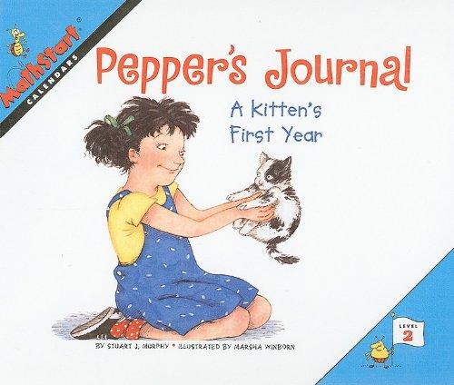 9780780798816: Pepper's Journal: A Kitten's First Year (Mathstart: Level 2 (Prebound))
