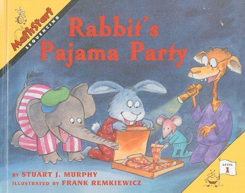 9780780798854: Rabbit's Pajama Party (Mathstart: Level 1 (Prebound))