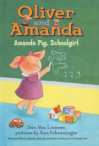 9780780799400: Amanda Pig, School Girl (Puffin Easy-To-Read: Level 2)