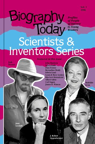 9780780800687: Biography Today: Profiles of People of Interest to Young Readers (Scientists and Inventors, Vol 1)
