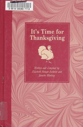 9780780803077: It's Time for Thanksgiving