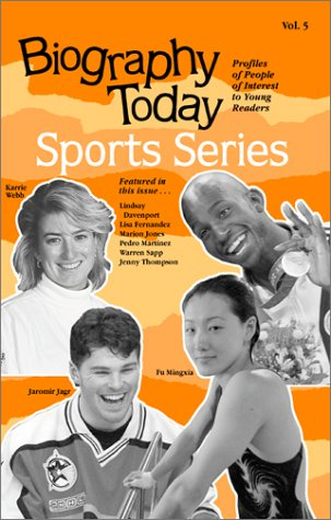 9780780804173: Biography Today Sports Series: Profiles of People of Interest to Young Readers