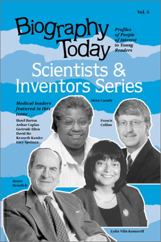 9780780805149: 6: Biography Today: Scientists & Inventors Series : Profiles of People of Interest to Young Readers (Biography Today Scientists and Inventors Series)
