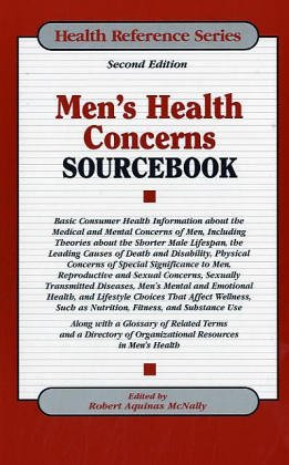9780780806719: Men's Health Concerns Sourcebook (Health Reference Series)