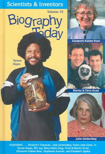 Biography Today Scientists Inventors V10 (Hardback)