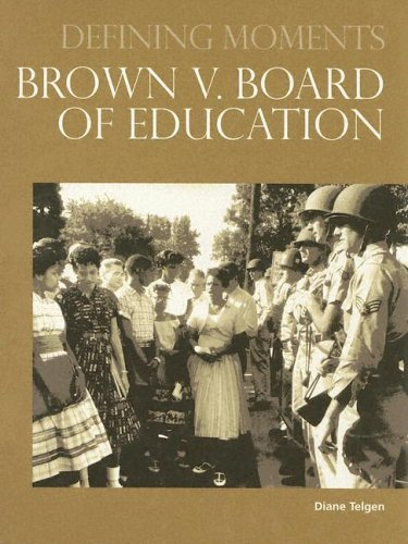9780780807754: Brown V. Board of Education (Defining Moments)