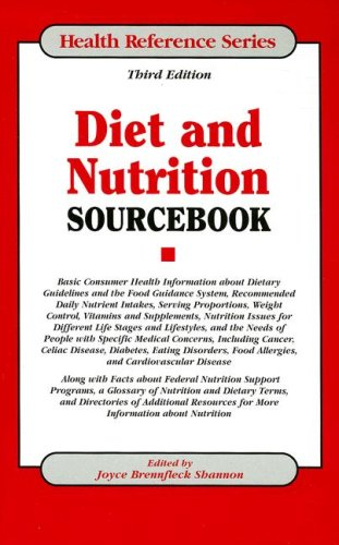 9780780808003: Diet and Nutrition Sourcebook (Health Reference Series)