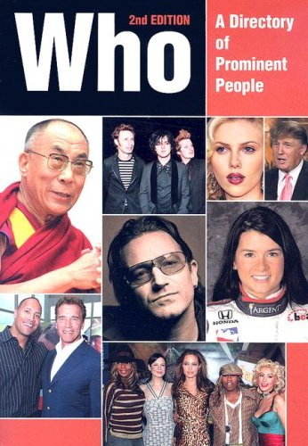Who: A Directory of Prominent People (Paperback)