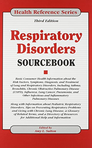 9780780813052: Respiratory Disorders Sourcebook (Health Reference)