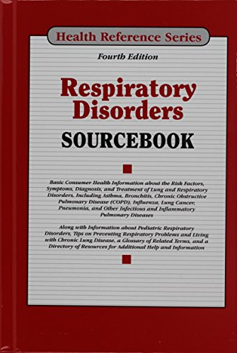 9780780815360: Respiratory Disorders Sourcebook (Health Reference Series)