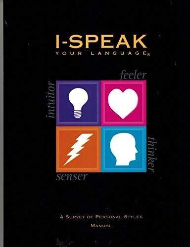 I-Speak Your Language: A Survey of Personal: Bednarski, Michael