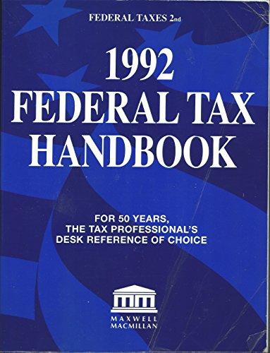 Federal Tax Handbook, 1992
