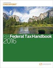 9780781105200: RIA Federal Tax Handbook 2016