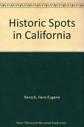 9780781250771: Historic Spots in California