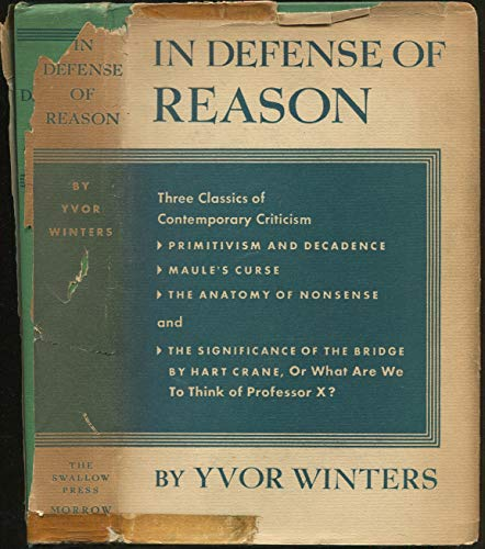 9780781265690: In Defense Of Reason (BCL1-PS American Literature)