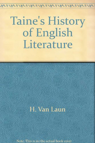 9780781270052: History of English Literature