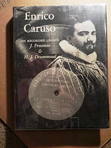 Enrico Caruso; His Recorded Legacy (Music Book Index) Freestone, John And Drummond, Harold John