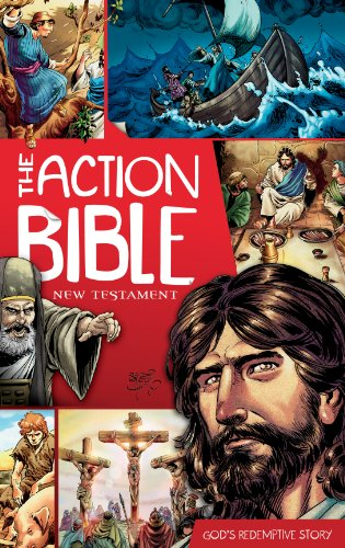 9780781406086: The Action Bible New Testament: God's Redemptive Story (Action Bible Series)