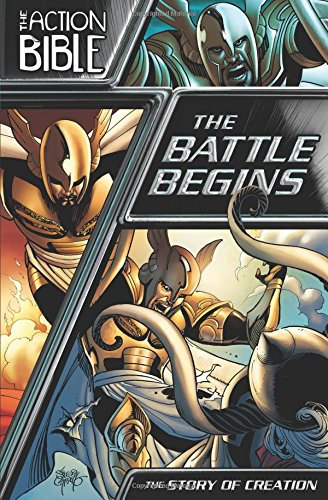 9780781411424: The Battle Begins: The Story of Creation (The Action Bible Graphic Novels)