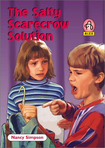 9780781434089: The Salty Scarecrow Solution (Alex (Chariot Victor Paperback))