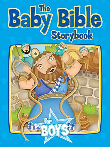 Baby Bible Storybook For Boys (New)