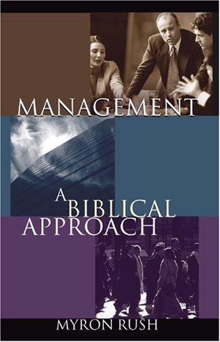 9780781437455: Management: A Biblical Approach