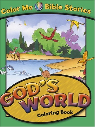 9780781443128: God's World: Color Me Bible Stories - Coloring Books