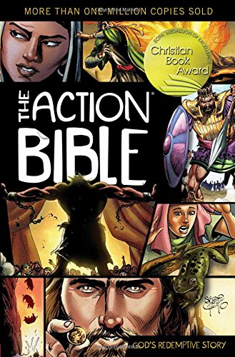 9780781444996: The Action Bible: God's Redemptive Story