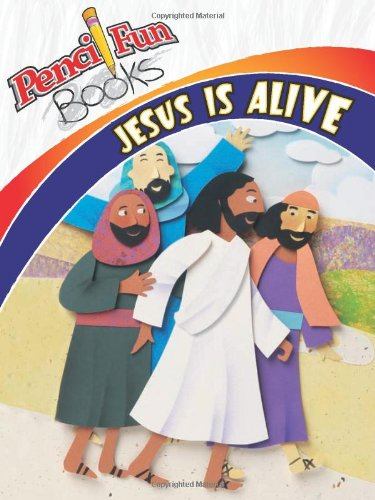 Jesus Is Alive: Pencil Fun Book Pack of 10 (0781445213) by Marie Frost