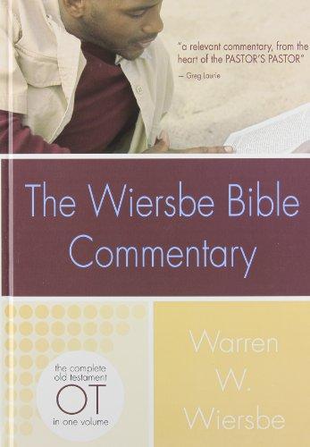 Wiersbe Bible Commentary Old Testament: Warren Wiersbe