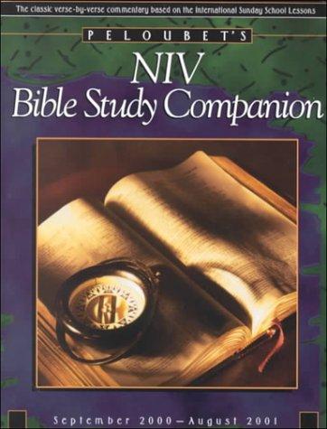 9780781455602: Peloubet's Niv Bible Study Companion September 2000-August 2001 (Peloubet's Sunday School Notes)