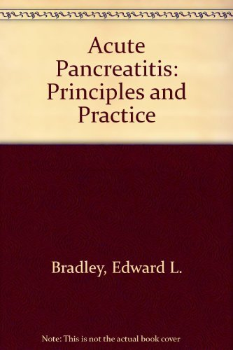 9780781700917: Acute Pancreatitis: Diagnosis and Therapy