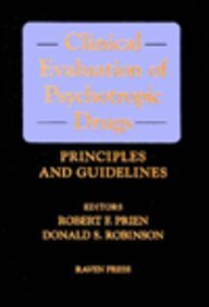 9780781701433: Clinical Evaluation of Psychotropic Drugs: Principles and Guidelines
