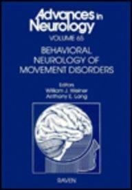 9780781701747: Behavioral Neurology of Movement Disorders (Advances in Neurology)