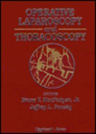 9780781702799: Operative Laparoscopy and Thoracoscopy (Books)