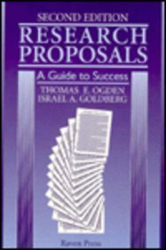 9780781703130: Research Proposals: A Guide to Success