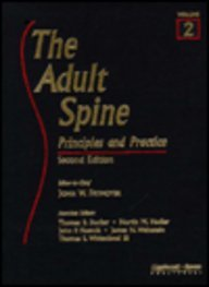 9780781703291: The Adult Spine: Principles and Practice