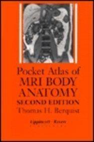 9780781703369: Pocket Atlas of MRI Body Anatomy, 2nd Ed.