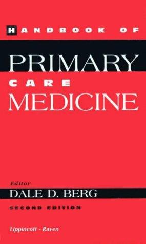 9780781714310: Handbook of Primary Care Medicine
