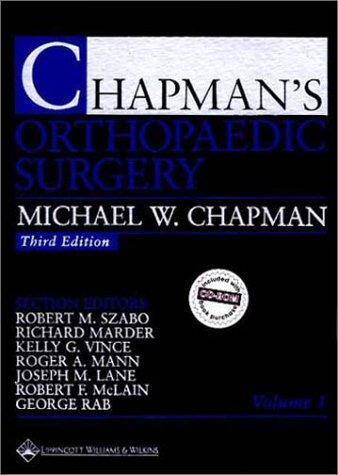9780781714877: Chapman's Orthopaedic Surgery