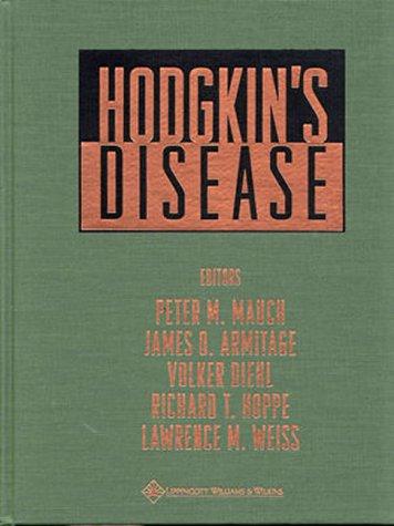 Hodgkin's Disease: Editor-Peter M. Mauch;