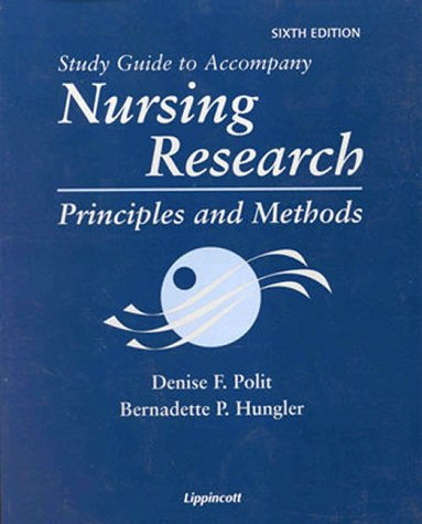 9780781715638: Nursing Research: Principles and Methods, 6th edition (Study Guide)